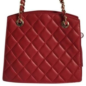 Mr. Jay Vintage Quilted leather purse